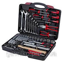 """Набор инструментов, ключей, насадок торцевых и биты 1/4"""", 1/2"""" 80шт CrV ULTRA (6001112)"""