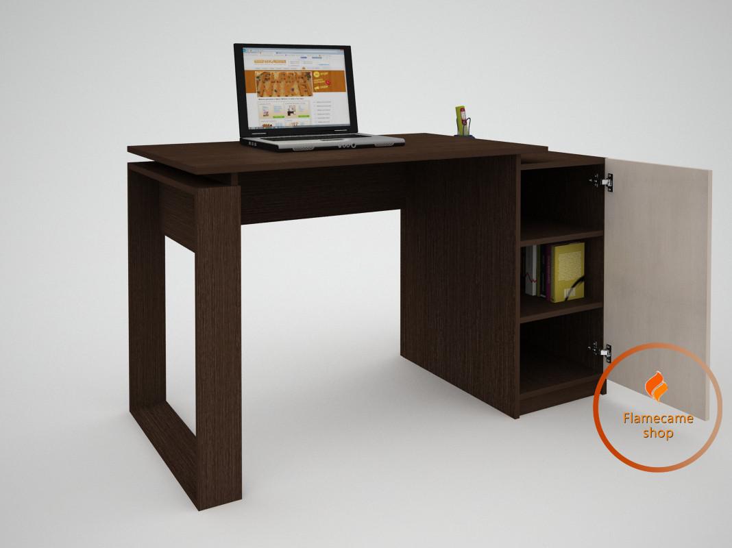 Комп'ютерний стіл з дверима з ДСП. Код: ЕКО-13213