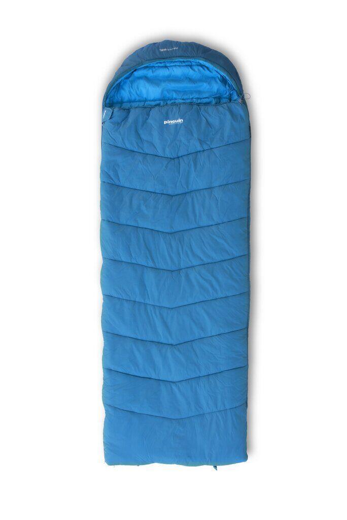 Спальний мішок Pinguin Safari 190 2020 Right Zip Blue
