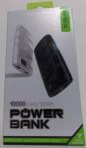 Внешний аккумулятор (power bank) BAVIN 10000мАч PC156S