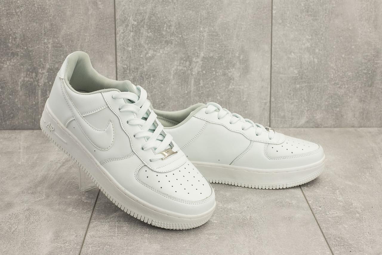 Мужские кроссовки искусственная кожа весна/осень белые Classica G 9153