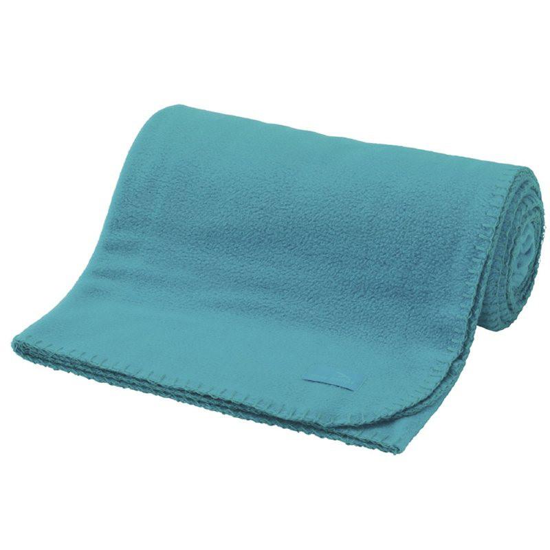 Плед туристический флис голубой  Easy Camp Fleece Blanket Turquoise