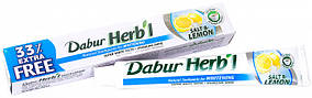 """Зубна паста Dabur Herb'l """"Відбілююча. Сіль і лимон"""" (75г + 25г)"""