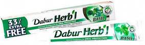 """Зубная паста Dabur Herb'l """"Базилик"""" (75г + 25г)"""
