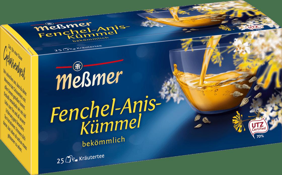 Чай Messmer Фенхель Анис Тмин 25s 50 g