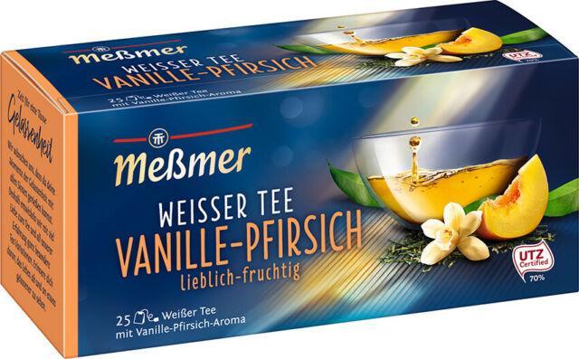 Чай Messmer Ваниль Персик 25s 35 g