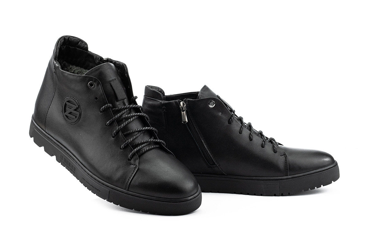 Ботинки мужские Zangak 162 чл+чп  (натуральная кожа, зима)