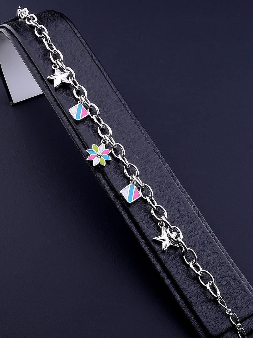 Браслет медицинское золото Xuping Jewelry  Jewelry Эмаль 18 см  покрытие родиевое
