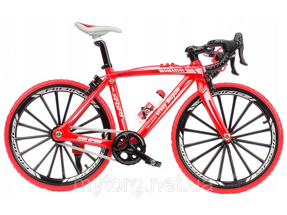 Спортивный велосипед фингербайк Crazy Magic Finger 1:10 Спортивный Красный