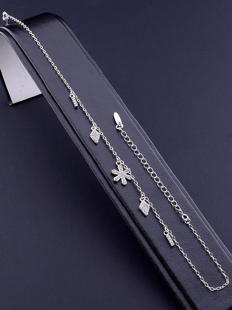 Браслет на ногу медицинское золото Xuping Jewelry  Jewelry покрытие родиевое