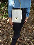 Сумка клатч стеганая  L 8113 W, фото 3
