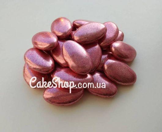 Декор шоколадный в сахарной глазури Миндаль розовый, 50 г