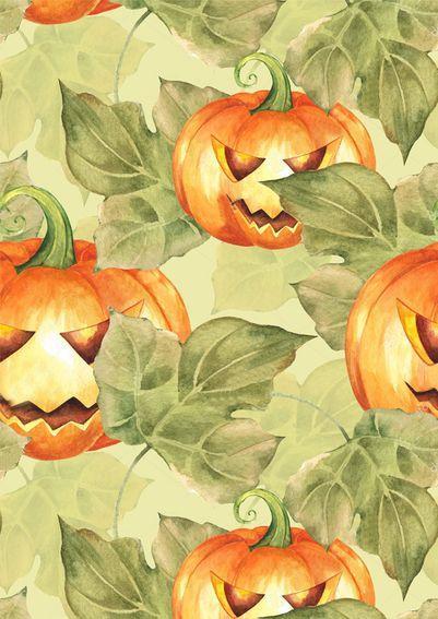 Вафельная картинка Принт Хеллоуин