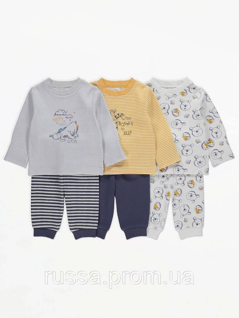 """Детские пижамки """"Винни Пух"""" для мальчика Джордж (поштучно)"""