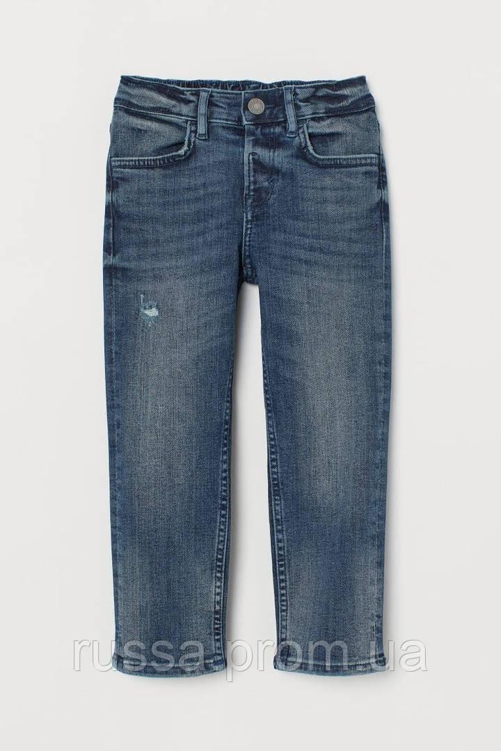 Модные джинсы с зауженными штанинами для мальчика НМ