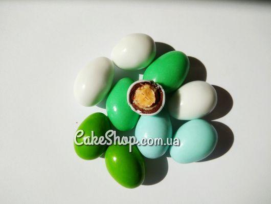 Декор шоколадный Яйца (зеленый микс), 50г