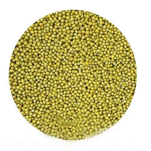 Посыпка шарики Золотые 1 мм.