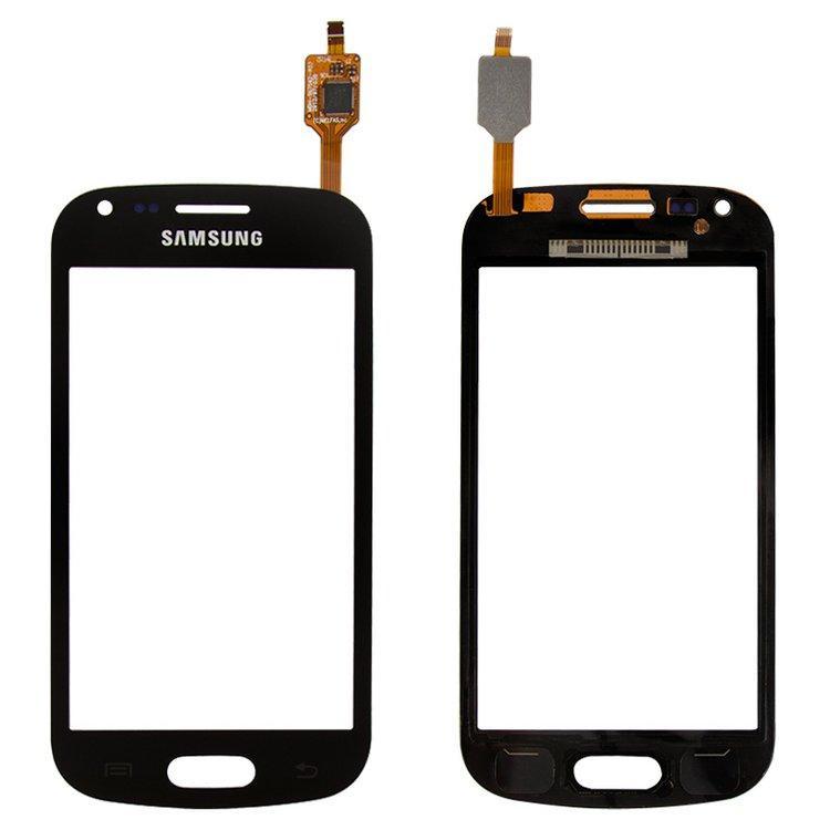Сенсор (тачскрин) для Samsung S7562 черный