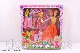 Лялька 30см 3803E з нарядами в коробці