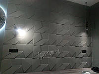 """3D гіпсові панелі для стін """"Скеля"""" і декоративного оздоблення інтер'єру 40×80×3"""