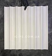 """Дизайнерские гипсовые 3D панели для отделки стен и потолков """"Спарта"""" 50x50x2"""