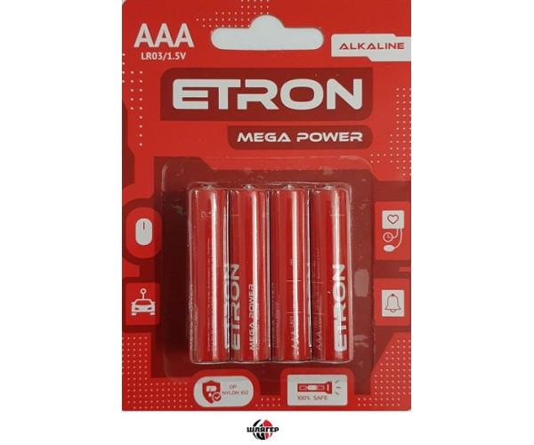 ETRON AAA C8 Элемент питания LR03