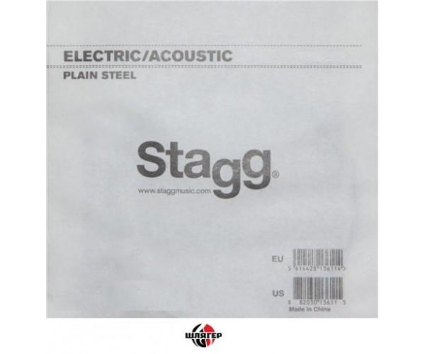 STAGG PLS008 Струна для электро или акустической гитары №1 .008