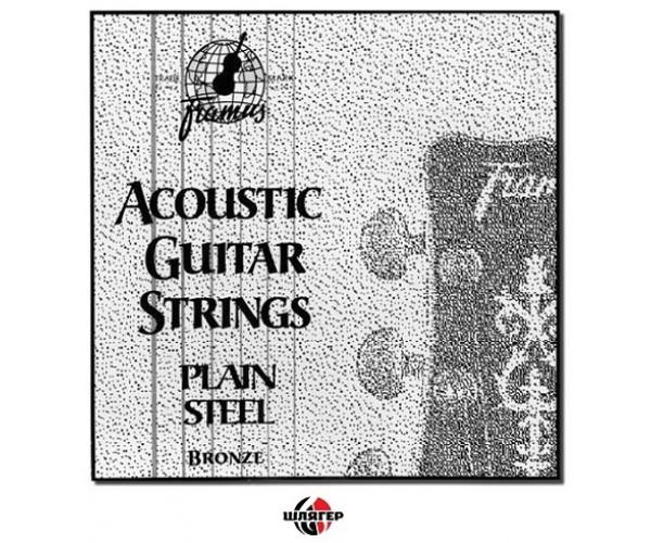 FRAMUS 48015 Струна для акустической гитары №2, бронза .015