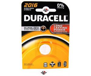 DURACELL® 2016 Элемент питания литиевый спец.3V