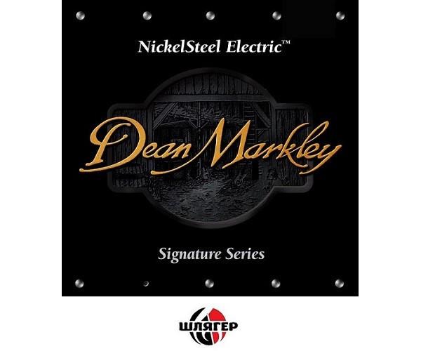 DEAN MARKLEY 1010 Nickelsteel Струна для электро или акустической гитары .010