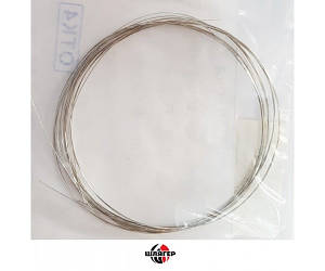 SOLID 0,20 Стальной провод луженый, 5 отрезков толщина 0,2мм, длина 970мм.