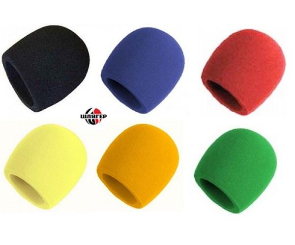 JTS MS R Ветрозащита для микрофона красного цвета