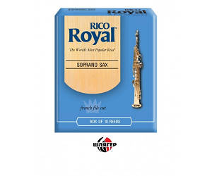 RICO RIB1020 Трость для саксофона сопрано Rico Royal ™, толщина 2