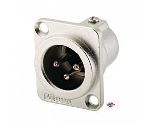AMPHENOL AC3MDZ Разъем XLR панельный штыревой