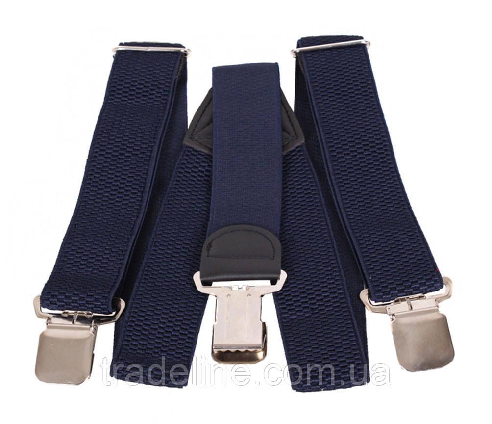 Подтяжки мужские Dovhani AP001-2BLUE322 Синие