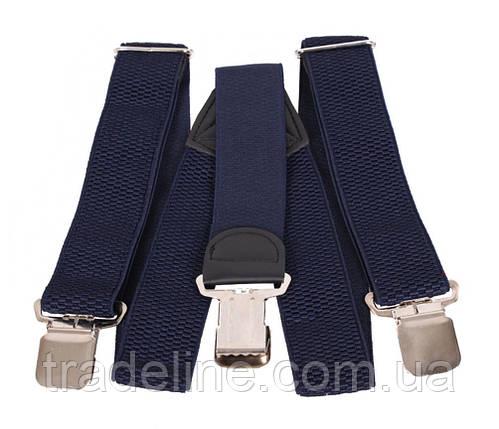 Подтяжки мужские Dovhani AP001-2BLUE322 Синие, фото 2