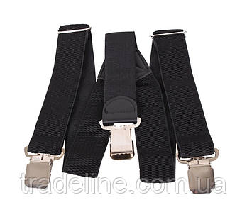 Подтяжки мужские Dovhani AP001-3BLACK323 Черные