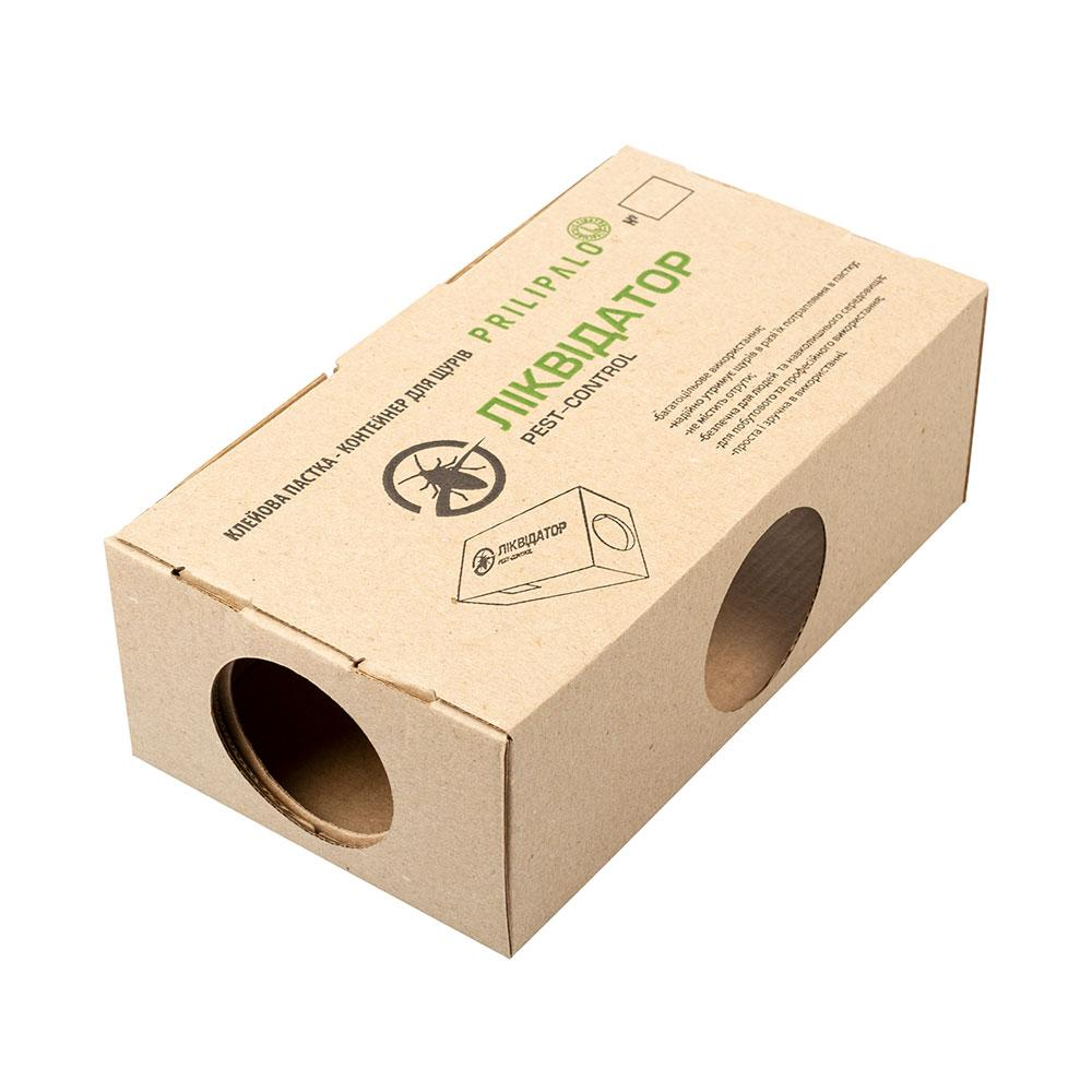 5шт Приманочний контейнер багаторазовий для щурів та мишей без клейової стрічки Картонний Дератизаційний
