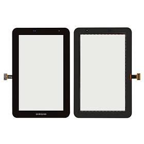 Сенсор (тачскрін) для Samsung P3100 Galaxy Tab 2, (версія Wi-fi) чорний Оригінал