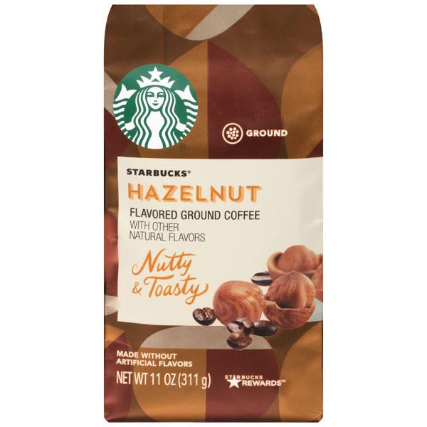 Кофе в молотый Starbucks Hazelnut Medium Roast Ground Coffee 311 грамм, США
