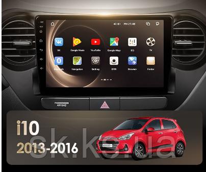 Junsun 4G Android магнітола для Hyundai I10 2013 - 2016