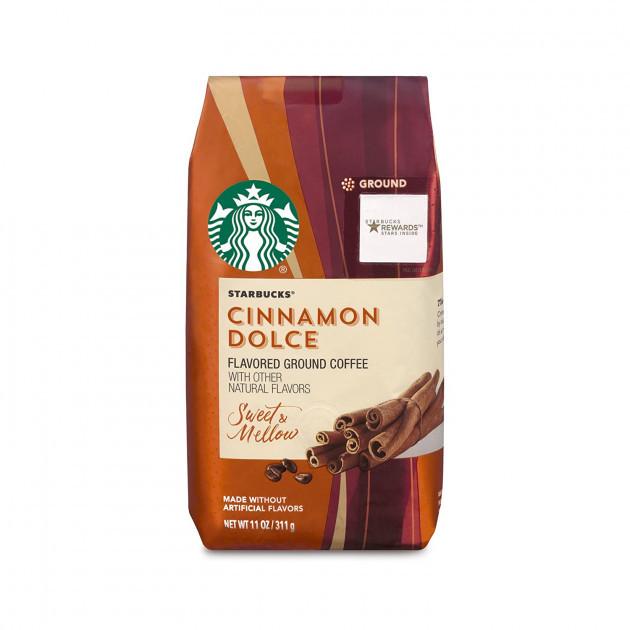 Кофе в молотый Starbucks Cinnamon Dolce Blonde Light Roast Ground Coffee 311 грамм, США