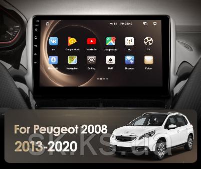 Junsun 4G Android магнитола для Peugeot 2008 1 208 2013 - 2020