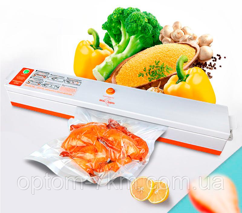 Вакууматор Вакуумний пакувальник для їжі FreshpackPRO TV50016 Jw