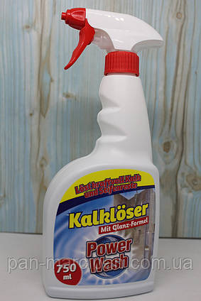 Спрей для ванних кімнат Power wash Kalkloser 750 мл Німеччина