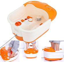 Массажная ванночка для ног Lilly Beaute Multifunction Footbath Massager гидромассажная с ИК подогревом, фото 2