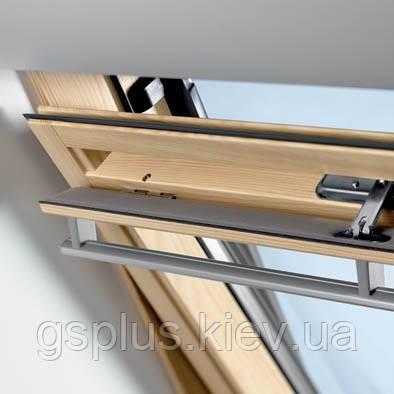 "Готовое панорамное мансардное окно Velux GGL 3073 ""Классика"" 78х118"