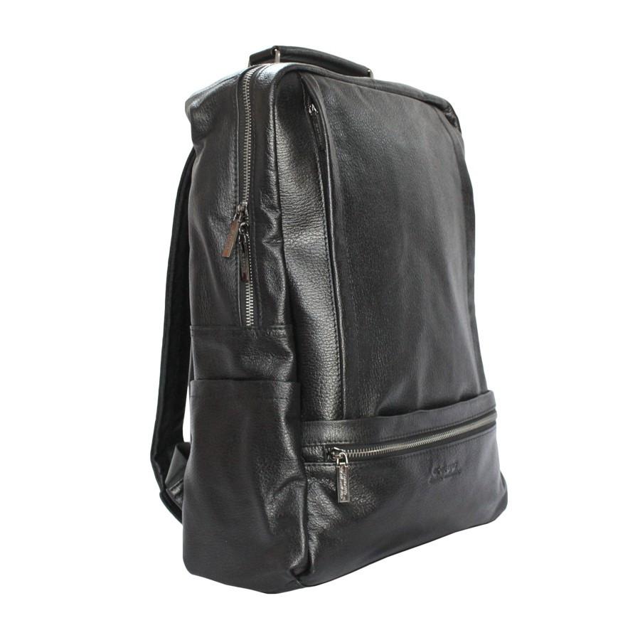 Рюкзак кожаный de esse Черный