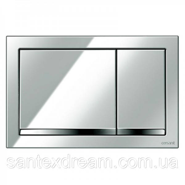 Кнопка Cersanit Enter для инст. системы LINK, HI-TECH, хромовая блестящая, K97-366