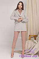 Женское короткое пальто на осень весну (р. S, M, L) арт. К-8849-45248
